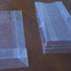 Candy packing bopp block bottom bag with custom design