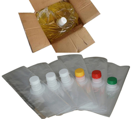 Aluminum Foil Laminated Fill Red Wine Pack Plastic Aseptic Food Bag In Box With Valve