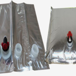 High Grade PACKING liquid coffee bag aluminum foil bag in box with tap/ aseptic bag