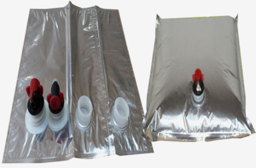 High Grade PACKING liquid coffee bag aluminum foil bag in box with tap/ aseptic bag