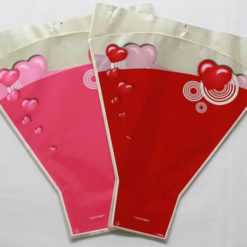 Transparent Floral Sleeves for Flower packaging/High Quality Bopp/Cpp Flower Wrapping Sleeves