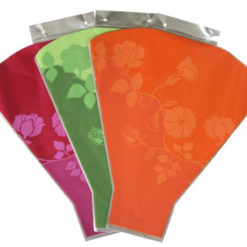 Plastic flower bouquets packaging sleeve/ bouquet sleeves