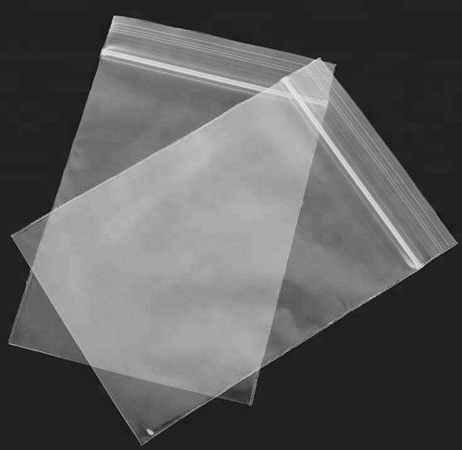 Hot Sale Customize Resealable Plastic Clear Poly Ziplock Baggies custom ziplock bag
