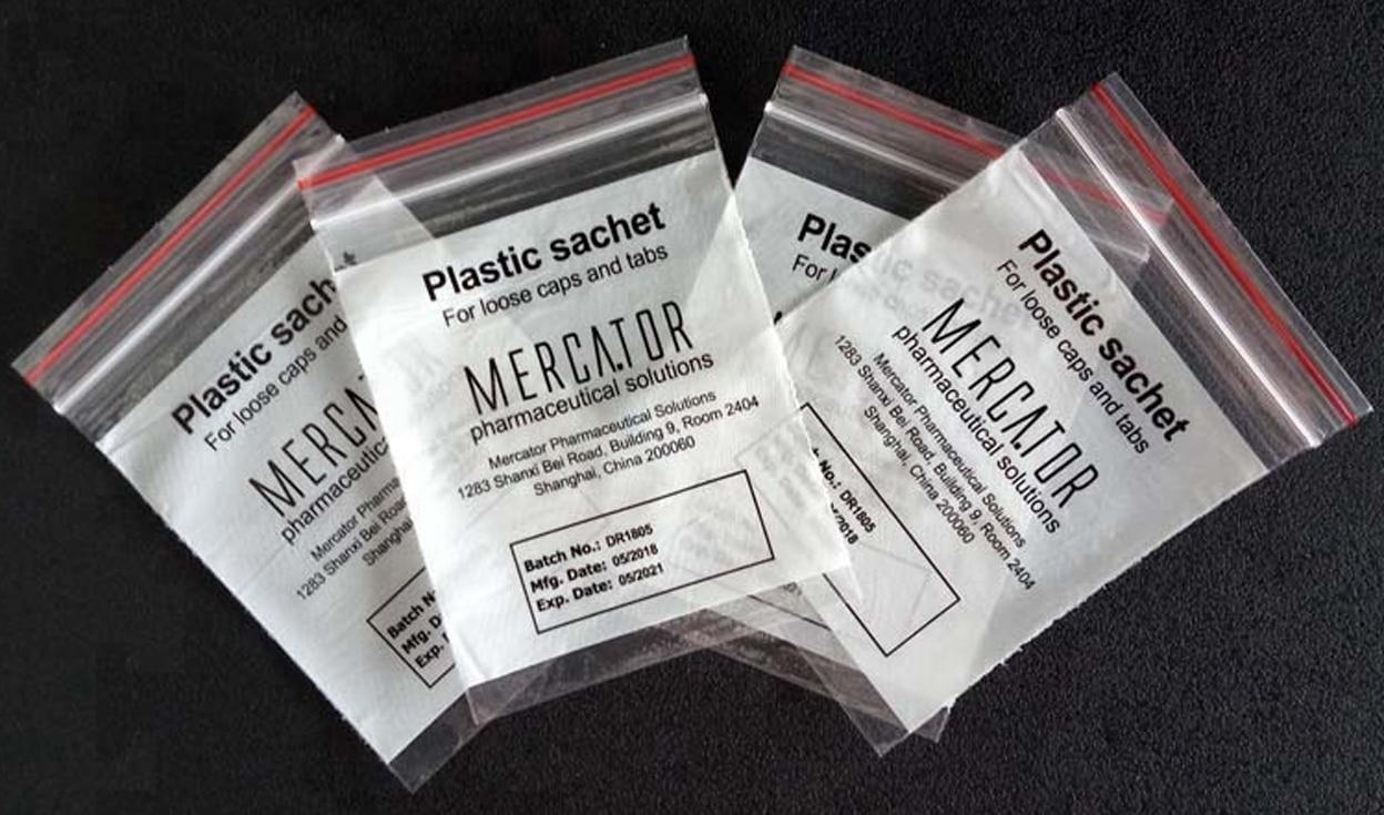 Reclosable Bag Medicine Ziplock Bag Perfect Packing Industry