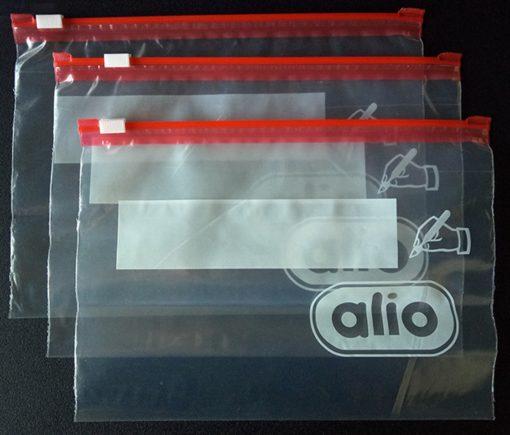 LDPE customized reclosable food storage slider zipper bag/ zip lock bag
