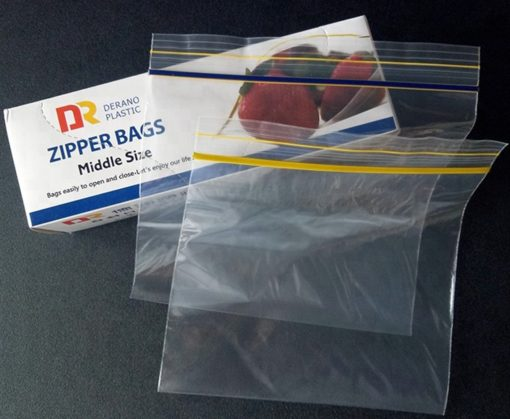 fruit reclosable zip lock bag